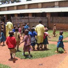 La scuola materna di Mugombwa