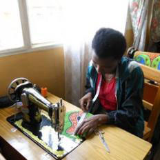 L'atelier di cucito Nyampinga