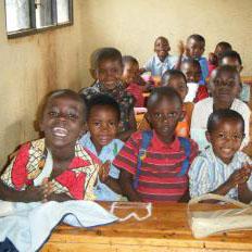 Le 5 scuole materne decentrate del settore di Tumba